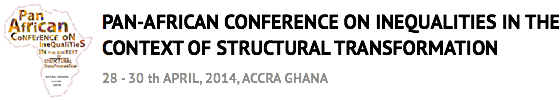 Africa Inequalities Conference logo