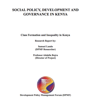 Class Formation and Inequality in Kenya