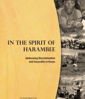 In the Spirit of Harambee Addressing Discrimination and  Inequality in Kenya