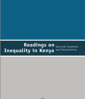 Readings on Equality in Kenya: Sectoral Dynamics and Perspectives