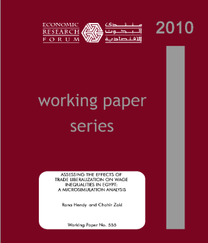 Assessing The Effects of Trade Liberalization on Wage Inequalities in Egypt: A Microsimulation Analysis
