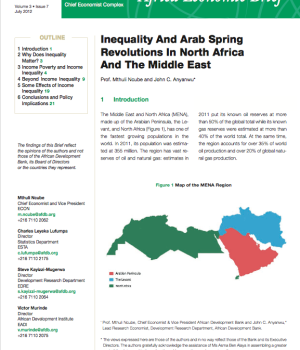 Inequality And Arab Spring  Revolutions In North Africa  And The Middle East