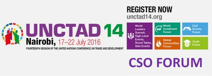 Upcoming  Event : UNCTAD 14 CSO Forum. What is the Nexus Between Inequalities & Trade Policies?