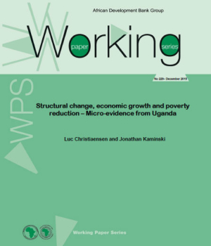 Structural Change Economic Growth and Poverty Reduction  Micro-evidence from Uganda