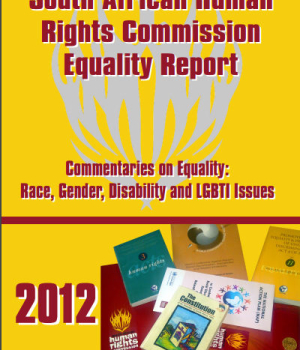 South African Human Rights Commission Equality Report