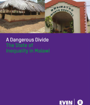 A Dangerous Divide The State of Inequality in Malawi