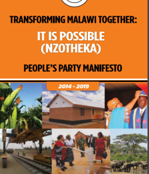 Transforming Malawi Together