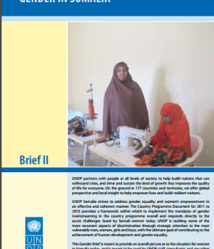 Gender in Somalia