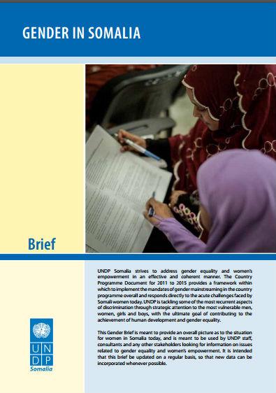 Gender in Somalia