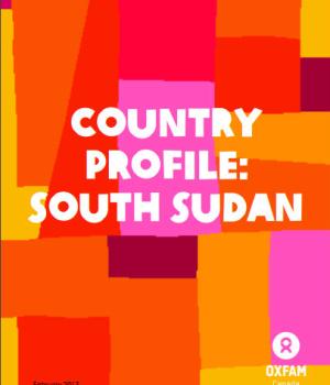 Country Profile: South Sudan