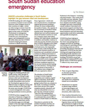 South Sudan Education Emergency