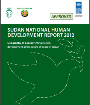 Sudan National Human Development Report