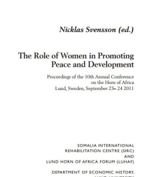 The Role of Women in Promoting Peace and Development